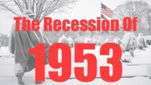 The recession of 1953